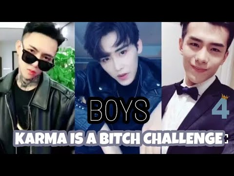 KARMA IS A BITCH CHALLENGE (BOYS) || Compilation #4🔥