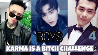 KARMA IS A BITCH CHALLENGE (BOYS) || Compilation #4🔥