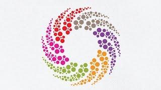 Adobe illustrator Logo Design Tutorial | How to Make a Circle Logo Design | The Best Logo Tutorial
