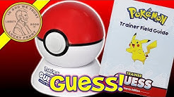 The Pokémon Trainer Guess Kanto Edition Electronic Guessing Game