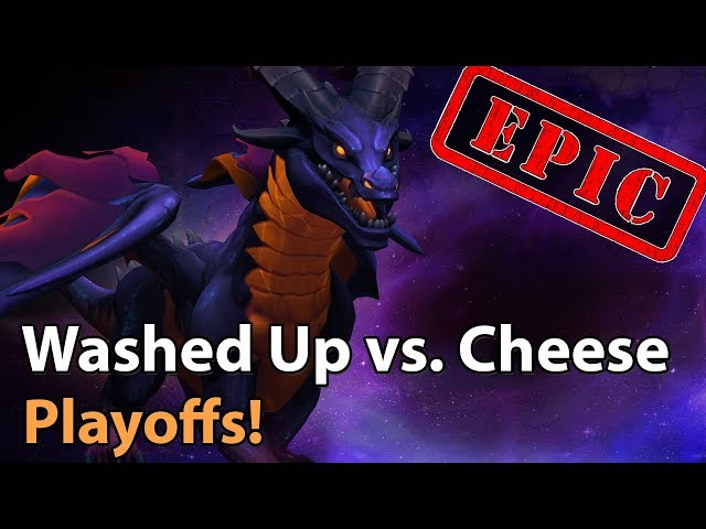 ► EPIC Heroes of the Storm: Washed Up vs. Team Cheese - HeroesHype Playoffs