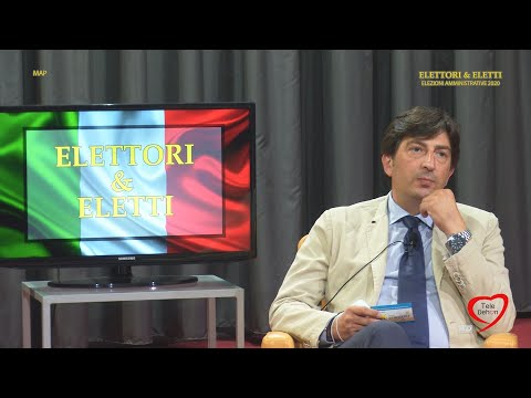 """Elettori & Eletti 2020, Beppe Corrado, candidato lista """"Con Emiliano"""" al consiglio comunale di Trani"""