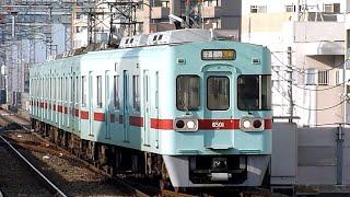 西日本鉄道 6000形 01編成 西鉄久留米駅 入線