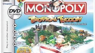 Monopoly Tropical Tycoon DVD Game (Main Menu)