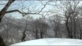 十和田山・戸来岳・往復バックカントリーSKI(2014.3.26.)