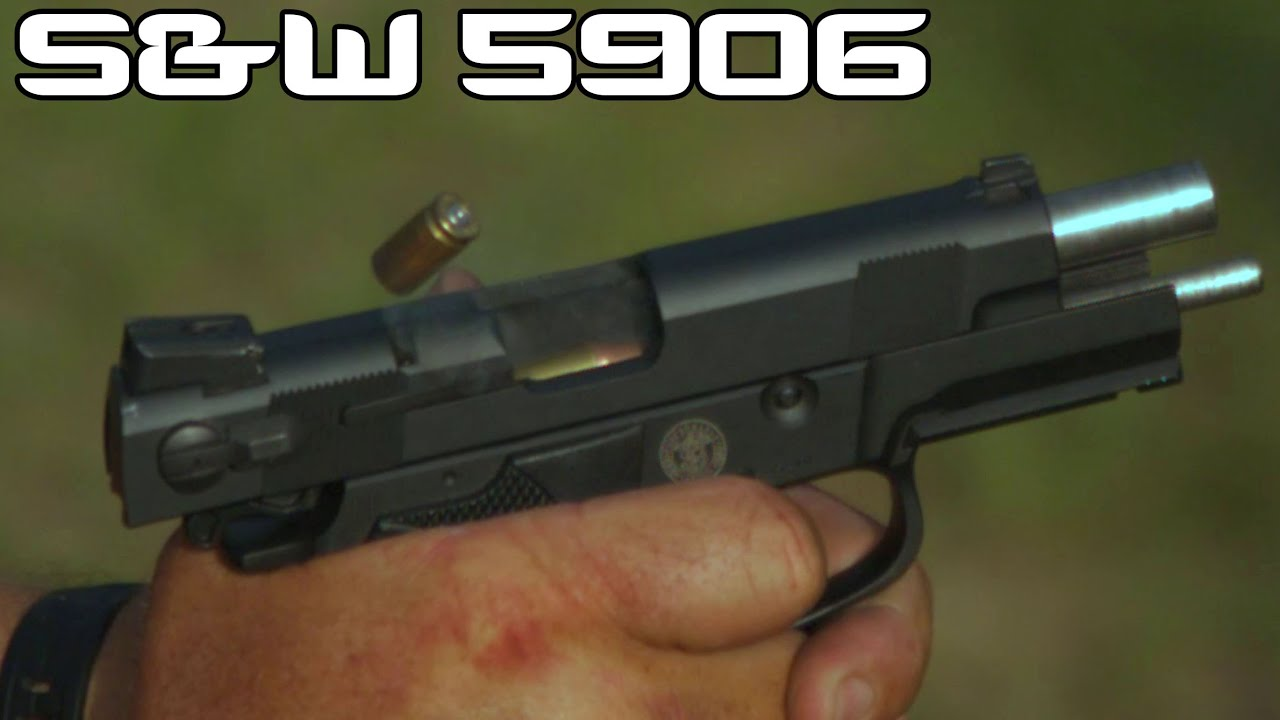 S&W 5906 Mexican Special Forces Pistol & 9MM Incendiary ammo! (4K SUPER  SLOW MO) - YouTube
