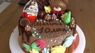 Торты на заказ Нижний Новгород Детский шоколадный торт(, 2017-08-19T14:22:17.000Z)