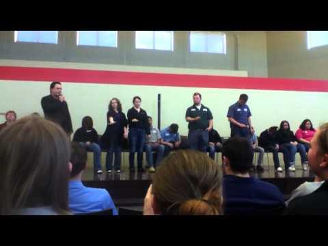 Hypnotist at Vantage Career Center Pt.5