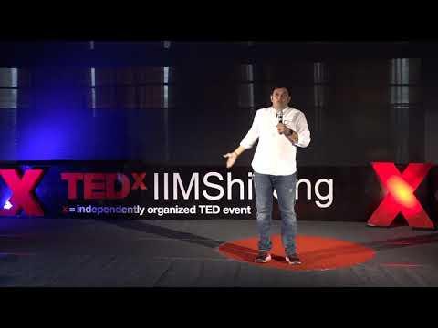 Farming Is More Glorious Than Acting  Rajesh Kumar  TEDxIIMShillong