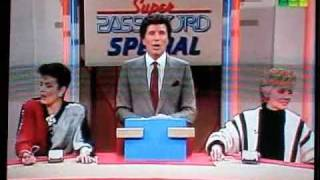 AW's Linda Dano and Kale Browne on Super Password--Part 1