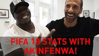 STILL THE BEAST OF FIFA RIO TELLS AKINFENWA HIS FIFA 18 RATINGS