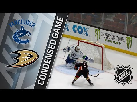 03/14/18 Condensed Game: Canucks @ Ducks