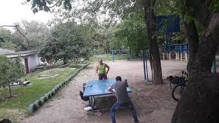 Настольний теннис  21.05.19 15:38:46 Макушкин Евгений vs Фролов Руслан часть 1