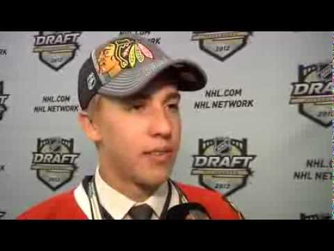 Teuvo Teräväinen Interview with Chicago Blackhawks