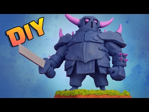 Making P.E.K.K.A From Clash Royale