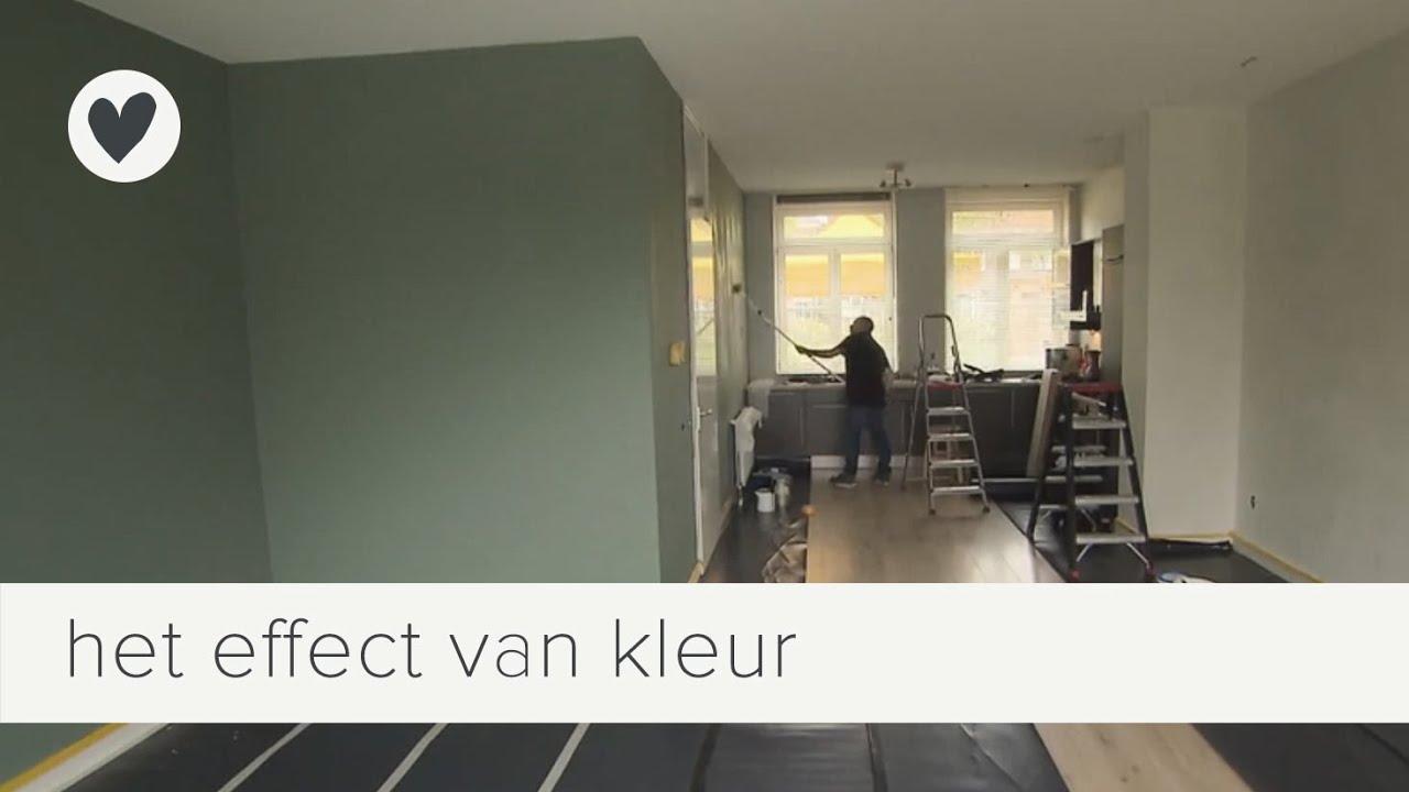 Tip kleur op de muur vtwonen weer verliefd op je huis youtube - Welke kleur verf voor een kamer ...