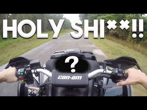 How FAST Will A 2017 Can-Am Outlander 1000 XMR GO FROM FACTORY?! (VERY DISAPPOINTED)