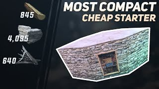 Rust   Extremely Compact Starter Base Design   Solo Duo Trio