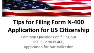 n400 form n 400 citizenship tips and help 2016
