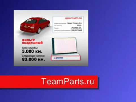 Запчасти для иномарок Интернет-магазин Teamparts.ru