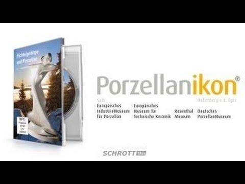 FICHTELGEBIRGE AND PORCELAIN - German Porcelain Museum full Documentation Doku