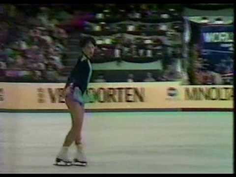 Kira Ivanova (URS) - 1984 Worlds, Ladies' Long Program