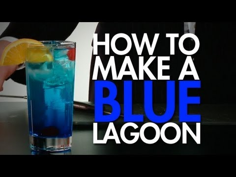 How To: Make A Seriously Tropical Blue Lagoon