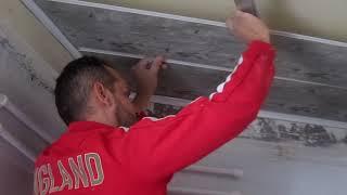 (ain temouchent)-كيفية تركيب الأسقف البلاستيكية بحرفية عالية -comment poser un faux plafond