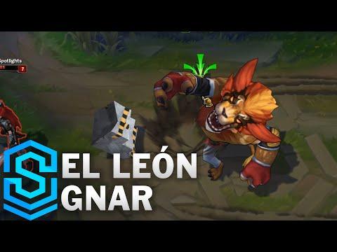 El Leon Gnar Skin Spotlight - Pre-Release - League of Legends