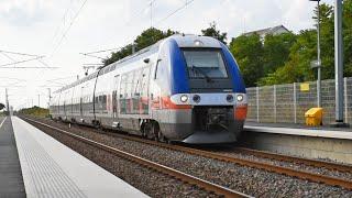 TGV TER et trains de fret sur les lignes Nantes-Bordeaux et La Rochelle-Poitiers