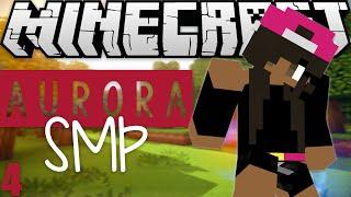 Minecraft: Aurora SMP (Modded) EP. 4 | Mailbox Baby