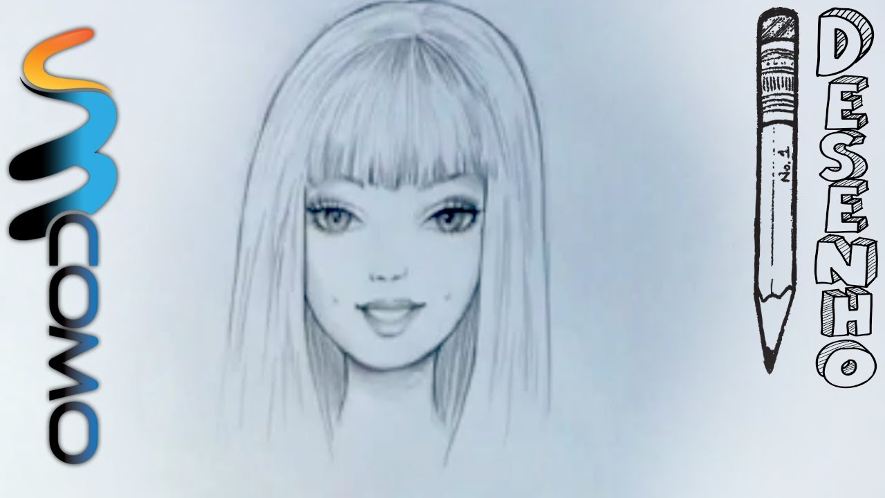 Rostos Desenhos: Desenhando O Rosto Da Barbie