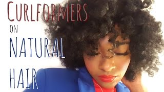 Curlformers on Natural Hair | Natural Hairstyles for Black Women