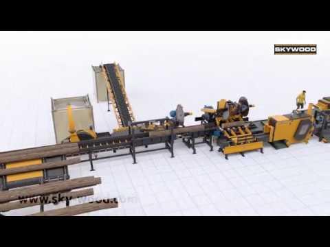 Linia Do Produkcji Deski Paletowej - Nowość!!!