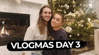 DECORATE WITH US! Vlogmas 3   Julia Havens