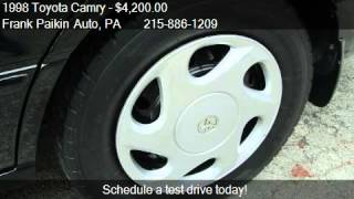 1998 Toyota Camry LE V6 - for sale in Glenside, PA 19038