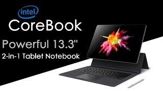 Chuwi CoreBook Powerful 2 in 1 Intel Tablet Windows 10 Laptop | 13-inch Full HD Touchscreen Display