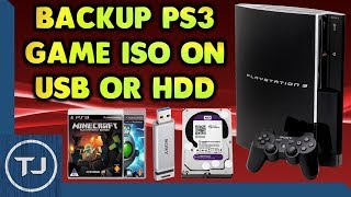 How To Copy/Backup PS3 Game Disk ISO To USB/HDD!