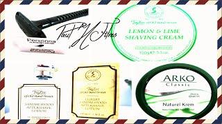 Wilkinson Sword De Razor ~ T.o.b.s. Lemon & Lime Shaving Cream