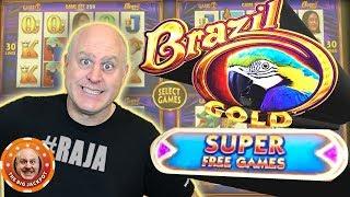 ✦ MAX BET! ✦ NEW Wonder 4 Brazil Gold Slot 🎰 Super Free Games! | The Big Jackpot