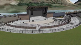 KettleHouse Amphitheater - Animated Architectural Rendering