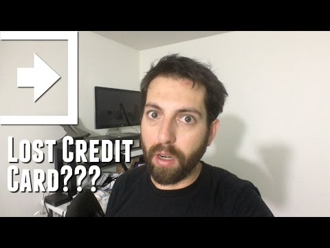 Lost Credit Card??? (Day 648 - 8.9.2016)