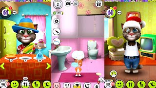 My Talking Tom Vs My Talking Lady Dog - Android/iPad/İOS Gameplay HD