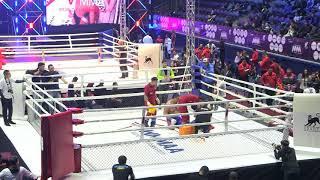 93+kg: Azamat Bahodurzada (UZB) vs. Alimzhan Suleimanov (KAZ). 2017 World MMA Championships