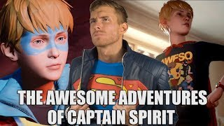 THE AWESOME ADVENTURES OF CAPTAIN SPIRIT TRAILER REACTION | SK Reacts - #E32018