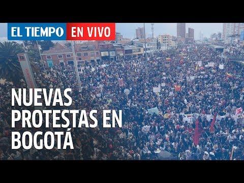 En Vivo Nuevas Protestas En Bogotá