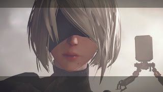 NieR: Automata - New Gameplay Showing New Areas (PS4/PC)