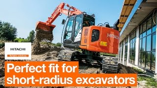 Perfect fit for Hitachi's short-radius excavators