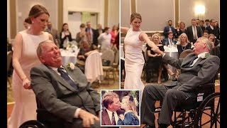 Bride's wedding dance with terminally ill father goes viral - Daily News