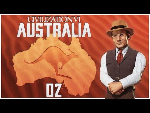 Civilization 6 as Australia - Episode 2 ...Appealing Continents...
